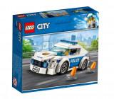 Set de constructie LEGO City Masina de politie pentru patrulare