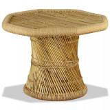 Măsuță de cafea Bambus Octogonal 60x60x45 cm