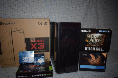 I3 8GB DDR4 SSD Sistem HIGH Gaming GTX 1050 fullhd foto