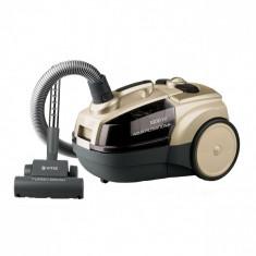 Aspirator cu filtrare prin apa VITEK VT-8100, 1800 W, sistem Aqua Clean, filtru HEPA lavabil, 5 trepte de filtrare, recipient 3,5 l, Turbo Bush, puter