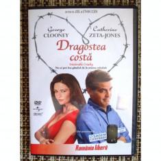 DRAGOSTEA COSTA - dvd- George Clooney , Catheryne Zeta Jones