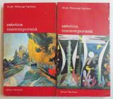 ESTETICA CONTEMPORANA,2 VOLUME-GUIDO MORQURGO-TAGLIABUE,BUCURESTI 1976