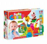 Baby Clemmy - Set de joaca cu carticica si animalute, Clementoni