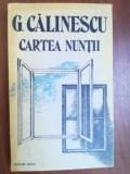 Cartea nuntii- G.Calinescu