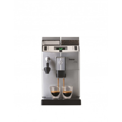 Automat cafea Saeco Lirika Plus, 1850 W, 15 bari, Argintiu / Negru foto