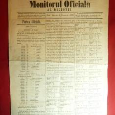 Monitorul Oficial al Moldovei 9 nov.1860 - Liste Electorale , 4 pag
