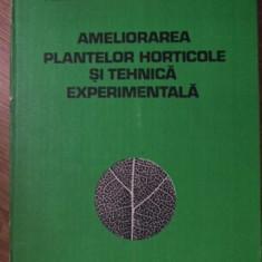 AMELIORAREA PLANTELOR HORTICOLE SI TEHNICA EXPERIMENTALA - I. CAZACEANU, M. GEOR