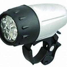 Far Lanterna Coter 5 Led-uri 2 Functii NegruPB Cod:MXBAC0309