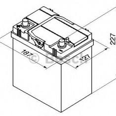 Baterie de pornire SUZUKI VITARA Cabrio (ET, TA) (1988 - 2002) BOSCH 0 092 S40 190