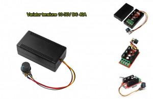 Variator tensiune DC regulator turatii motor PWM 10 - 50V 40A