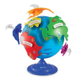 Primul meu glob pamantesc Learning Resources, 360 de grade, 20 cm, 3 - 7 ani