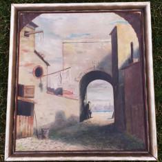 TABLOU VECHI, ULEI PE PANZA., Peisaje, Realism
