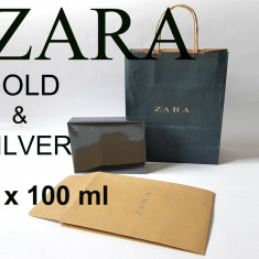 Set Parfum barbati Zara Man Gold Silver 2 x 100 ml fresh casual NOU