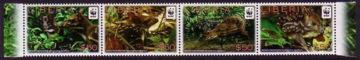 LIBERIA 2011 WWF CERBI PITICI