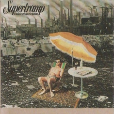 Caseta Supertramp ‎– Crisis? What Crisis?, originala, holograma