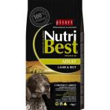 Cumpara ieftin Hrana uscata pentru caini premium cu miel si orez, Adult, Nutribest, 3 kg