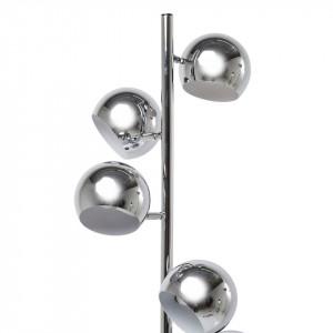 Lampadar Calotta, crom, argintiu