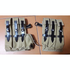 Portincarcatoare Schmeisser MP40 culoare TAN, Wehrmacht,Waffen-SS ,WW2,airsoft