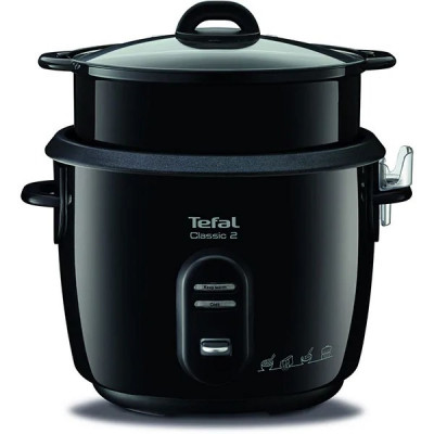 Multicooker TEFAL, 5l, 600W, 3 programe, negru foto