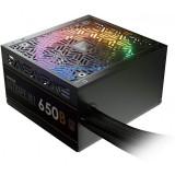 Sursa Astrape M1 650W iluminare RGB, certificata 80 PLUS Bronze, eficienta 85%