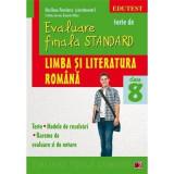 Limba si literatura romana - Evaluarea finala standard - Cls. a VIII-a Ed. a II-a - Cristina Avram, Daniela Gitlan