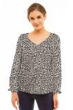 Bluza dama Ula, cu model, Lental