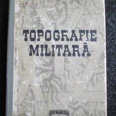 Topografie militara- D.vasile,A.Ionita
