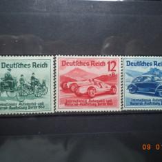 1939  Germania ( Reich ) Mi 686 - 688  Serie completa**, Nestampilat