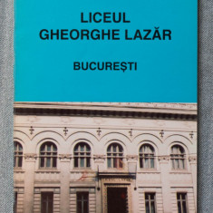 Prof. Dr. Tudor Opriș - Liceul Gheorghe Lazăr, București (1860-1995)