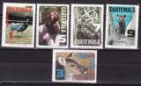 Guatemala 1979  fauna  MI 1124-1128  MNH  w56
