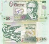 Uruguay 20 Pesos 2015 UNC
