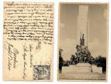 Bucuresti 1940 - Monumentul Infanteriei, ilustrata circulata