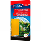 Hartie adeziva anti insecte pentru gradini si sere 10 buc