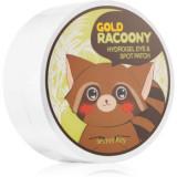 Secret Key Racoony Gold masca hidrogel pentru ochi cu aur