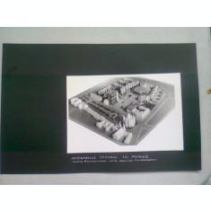 ANSAMBLUL CENTRAL TG. MURES. TEATRU, HOTEL, MAGAZINE, 500 APARTAMENTE - FOTOGRAFIE PROIECT ARHITECTURAL