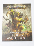 Warhammer Age of Sigmar Destruction Battletome Orruk Warclans - carte reguli
