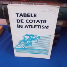 TABELE DE COTATII IN ATLETISM , 1994