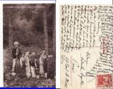 Casa Regala -Sinaia- Principesa Maria cu printii si printesele