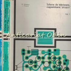 Scheme De Televizoare, Magnetofoane, Picupuri I, II - M. Silisteanu