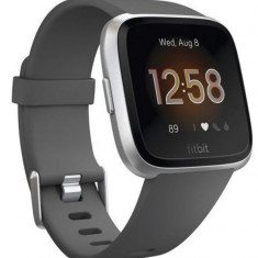 Ceas activity tracker Fitbit Versa Lite, Android&iOS, Bluetooth, Silicon (Gri)