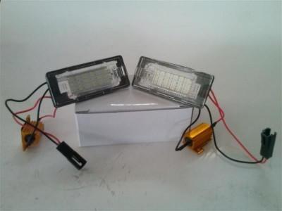 Lampa LED numar compatibila VW Polo 6R 2010~ foto