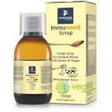 Immuneed Sirop De Tuse Pentru Gat Iritat Cu Miere Si Ghimbir 150ml