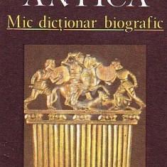 Lumea antica. Mic dictionar biografic