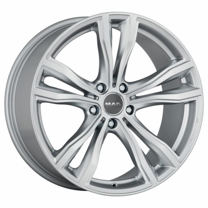 Jante BMW X6 M Performance Staggered 9J x 19 Inch 5X120 et18 - Mak X-mode Silver - pret / buc