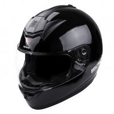 Casca integrala cu ochelari de soareISPIDO ZONDA SV culoare negru metalic marimea M