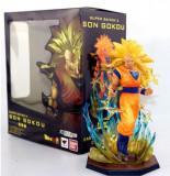 Figurina super saiyan 3 goku dragon ball Z 18 cm anime