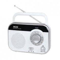 Radio portabil Akai PR003A-410 1W Alb