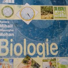 Biologie - manual pentru clasa a VIII-a , Aurora Mihail și Gheorghe Mohan