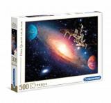 Puzzle Statie spatiala, 500 piese, Clementoni
