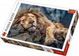 Cumpara ieftin Puzzle Trefl 1000 Leu Dormind